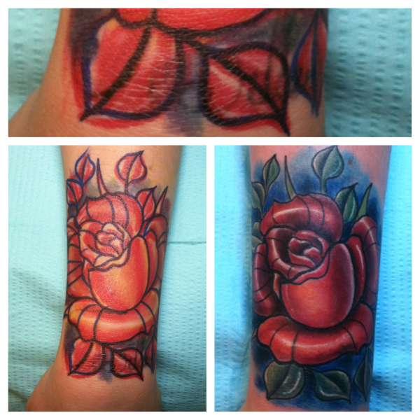 Cute Cover Up Wrist Tattoos: David Meek Tattoos
