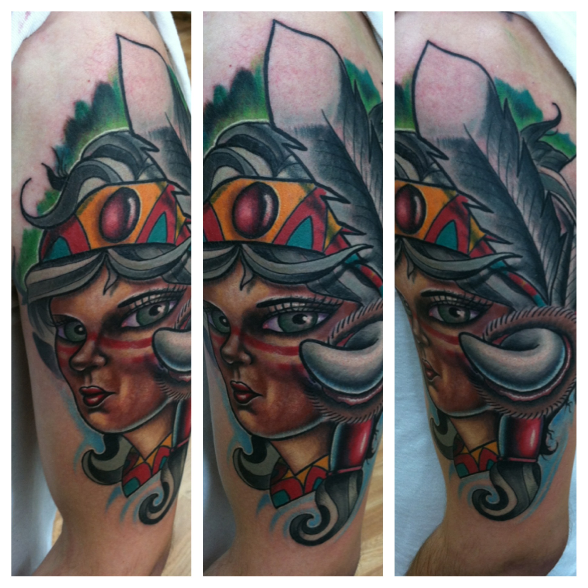 Ohio tattoo artist david meek tattoos for Full custom tattoo