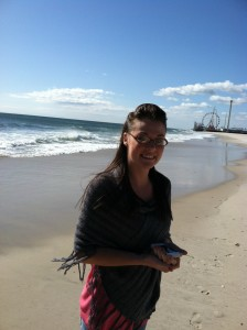 with my love on the jersey shore march 2012