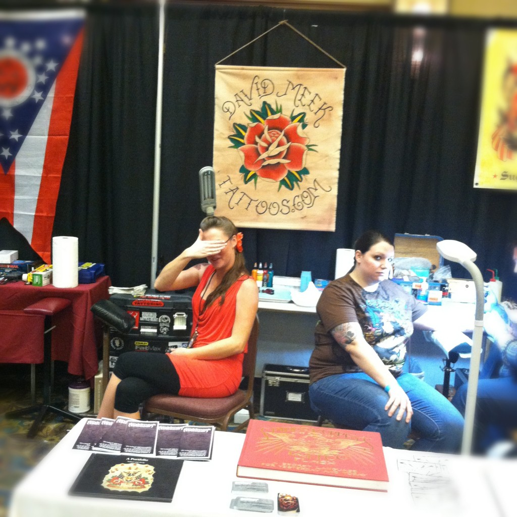 David meek tattoos meeting of the marked pittsburgh for Pittsburgh tattoo convention